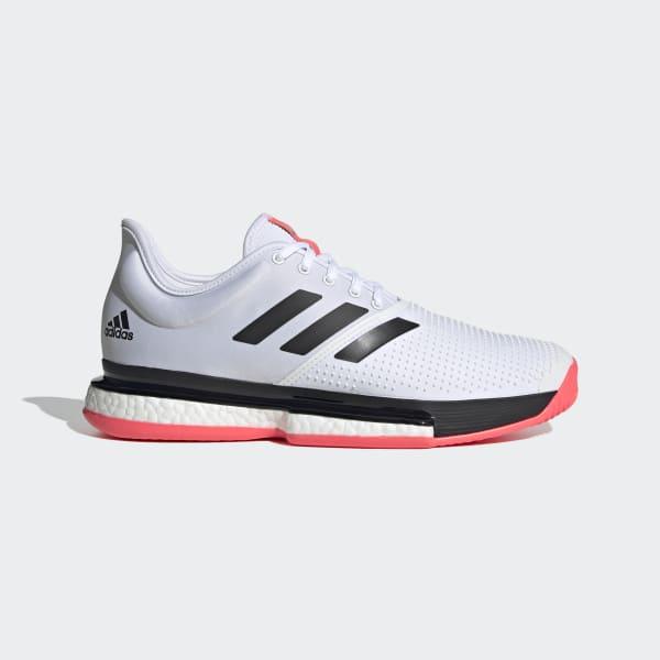 adidas SoleCourt Shoes - White   adidas US