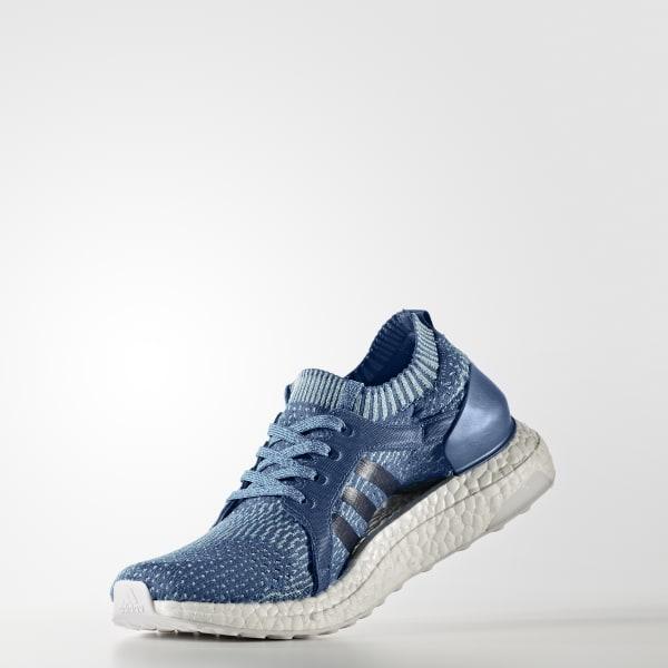 save off ea9ad b260a Zapatillas para correr ULTRABOOST X PARLEY Mujer - Azul adidas   adidas Peru