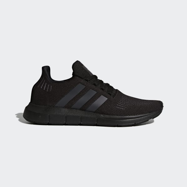 adidas Swift Run Shoes - Black  5975e7678fdf8