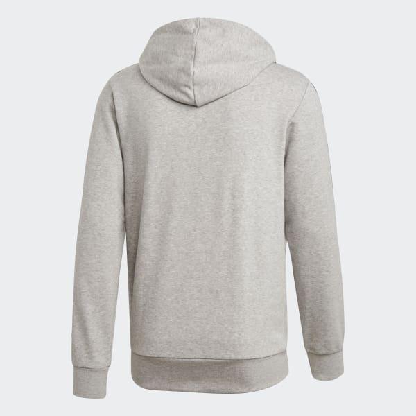 Adidas Veste à Capuche Essentials Base Gris Homme pas