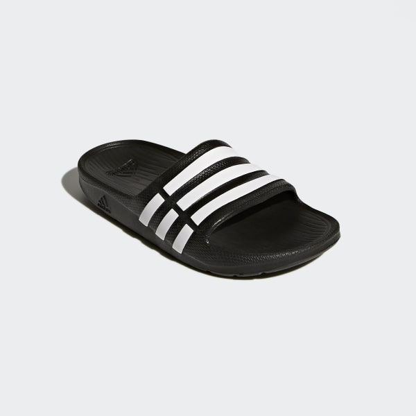 61a9782df32b51 adidas Duramo Slides - Black