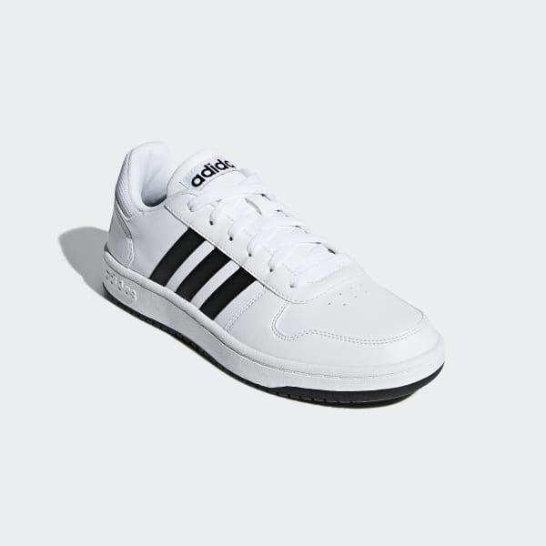 feaf65a6c37 Zapatilla Hoops 2.0 - Blanco adidas