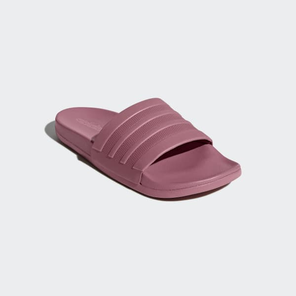 4b6b11ea563 adidas Adilette Cloudfoam Plus Mono Slides - Pink