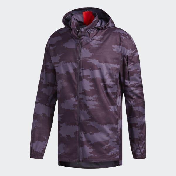 05317daa87f41 adidas Supernova TKO DPR Jacket - Purple