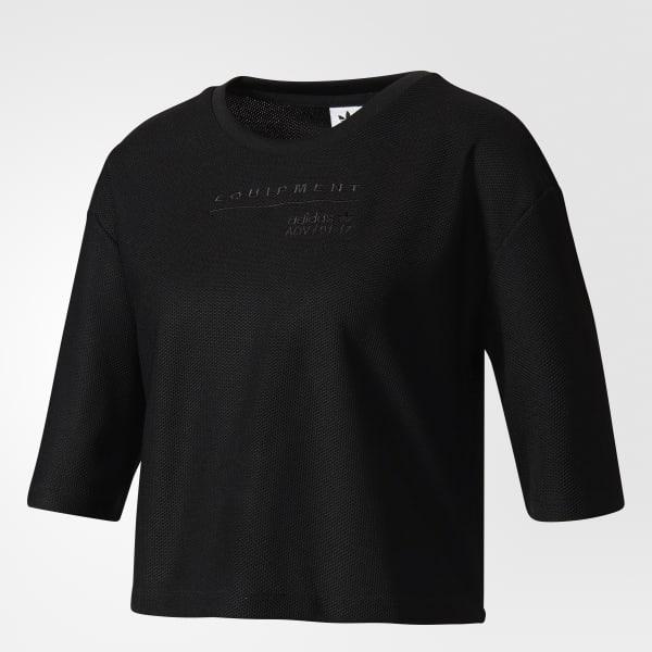 adidas Remera Originals EQT - Negro  23ecb04104302