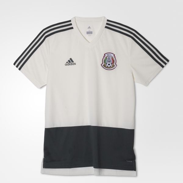 91a11fd806411 adidas Jersey de Entrenamiento Selección de México 2018 - Rojo ...