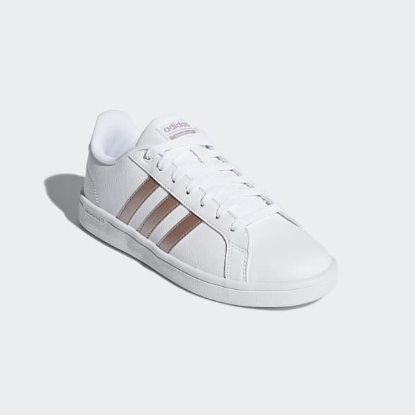 adidas Cloudfoam Advantage Shoes - White | adidas UK
