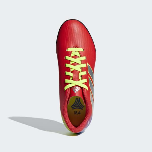 adidas Calzado de Fútbol NEMEZIZ MESSI 18.4 TF J - Rojo  2d7c0a508719c