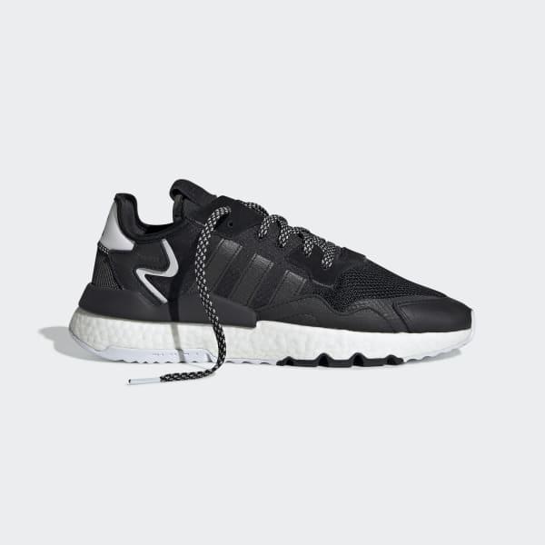 Lágrimas hermosa Piscina  adidas Nite Jogger Shoes - Black | adidas Ireland