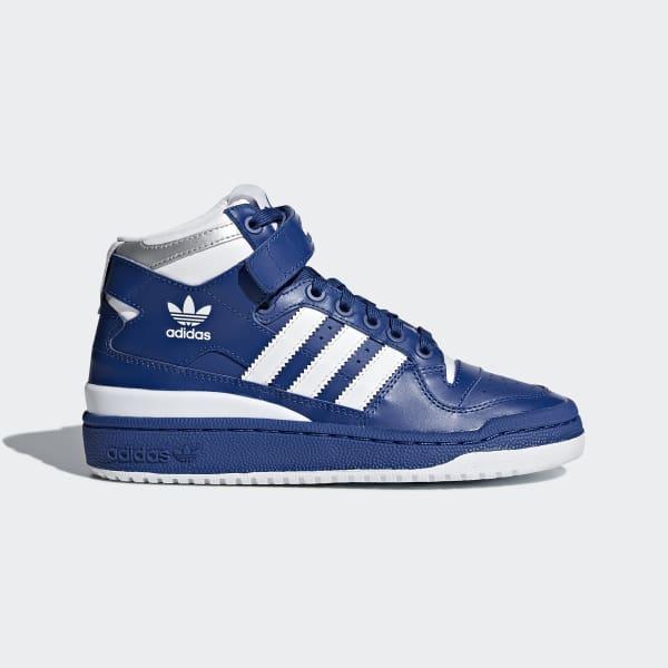 newest 66bfe 59a00 adidas Forum Mid Schoenen - blauw  adidas Officiële Shop
