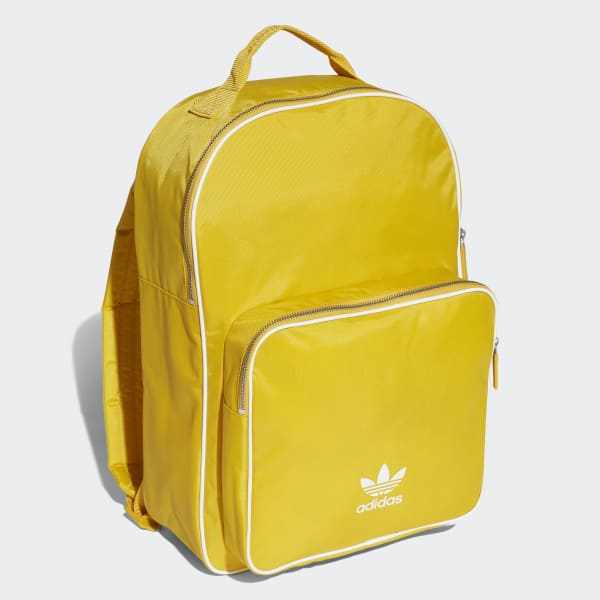 9b6bbc6a5e49 adidas Classic Backpack - Yellow