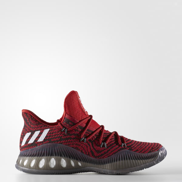 1203098b4 adidas Crazy Explosive Low Primeknit Shoes - Red