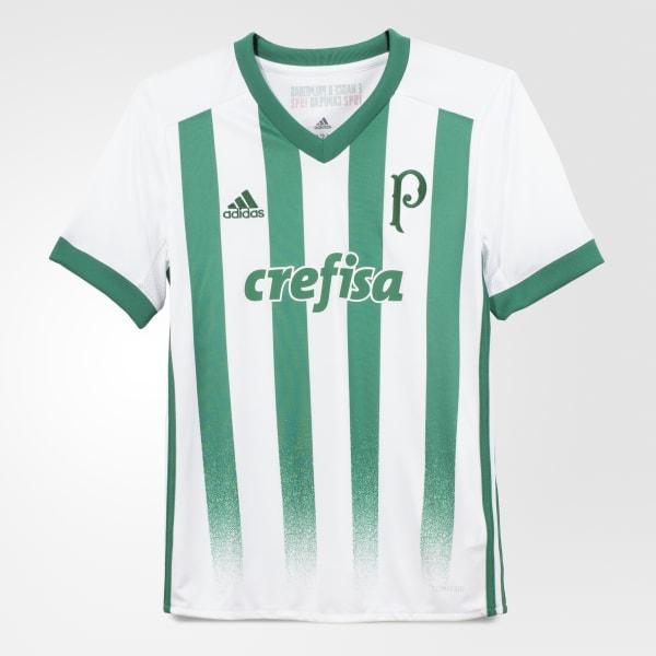 73dd136e010cf Camisa Palmeiras 2 Infantil - Branco adidas