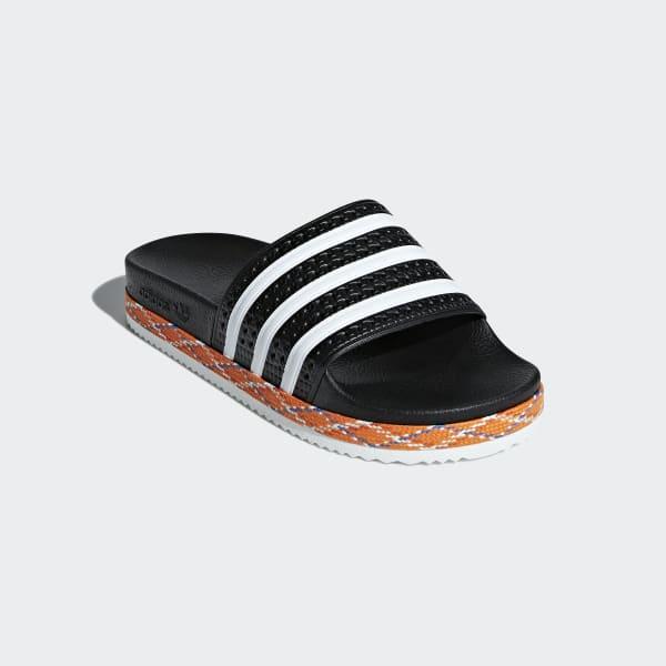 957c4f48dc3498 adidas Adilette New Bold Sandals - Black