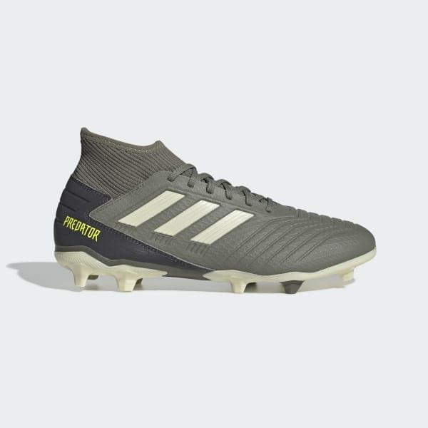 Mínimo Berenjena Matón  adidas Predator 19.3 Firm Ground Boots - Green | adidas Singapore