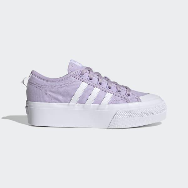 adidas Nizza Platform Shoes - Purple