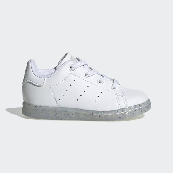 Image 1 of adidas Originals Stan Smith All Over White