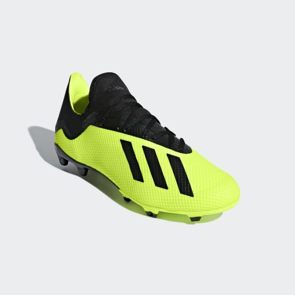 adidas Calzado de Fútbol X 18.3 Terreno Firme - Amarillo  3dcd622c320be