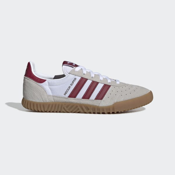 adidas rouge chaussure indoor