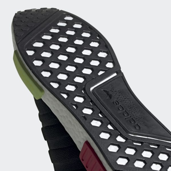 NMD R1 Black and Red Shoes | adidas