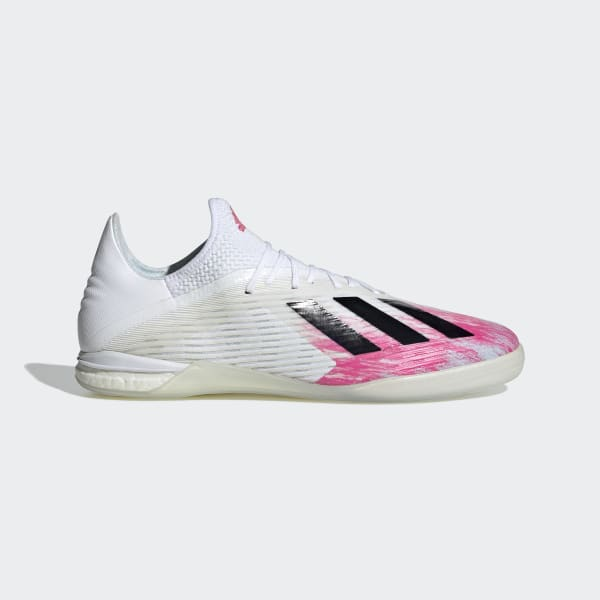 adidas X 19.1 Indoor Shoes - White