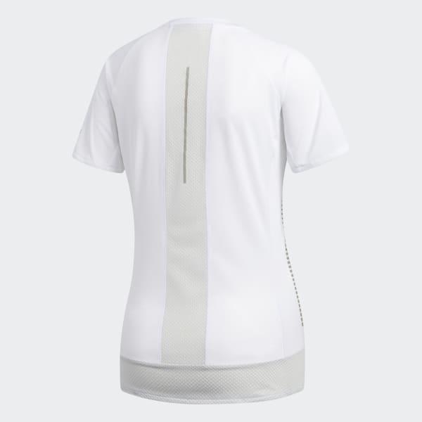 adidas Parley 257 Rise Up N Run T Shirt Weiß   adidas Austria