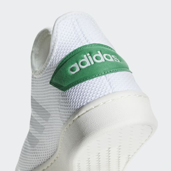 Witte adidas Court Adapt Sneakers Heren 42