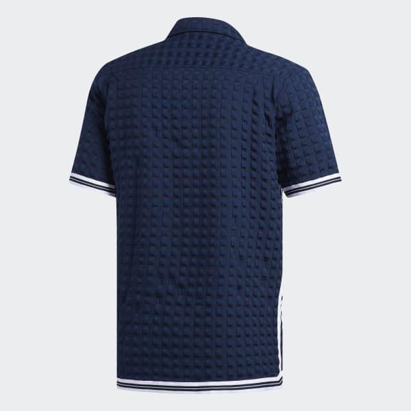e2fc94f5cf adidas Camisa Banyan - Azul   adidas MLT