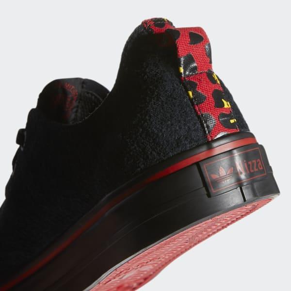 toca el piano robo Modernizar  Men's Nizza RF Core Black and Scarlet Shoes | adidas US