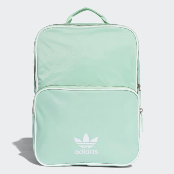 adidas Classic Backpack Medium - Turquoise  13624bade59e7