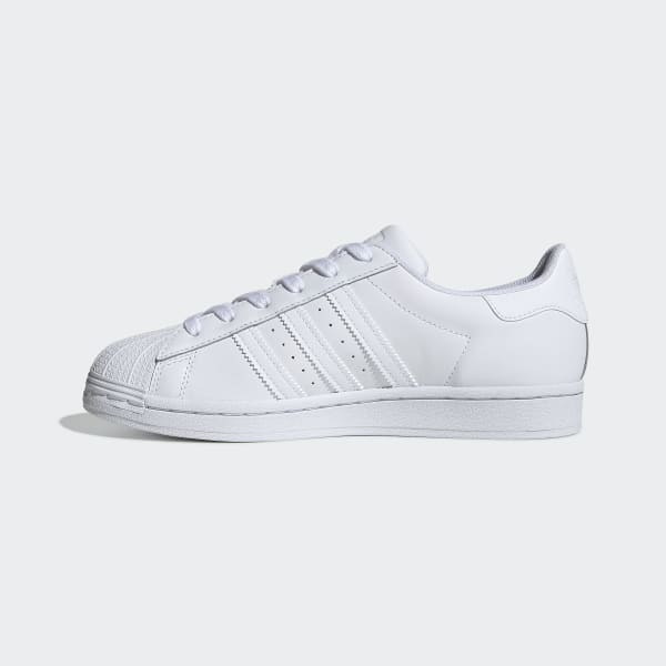 Women's Superstar All White Shoes