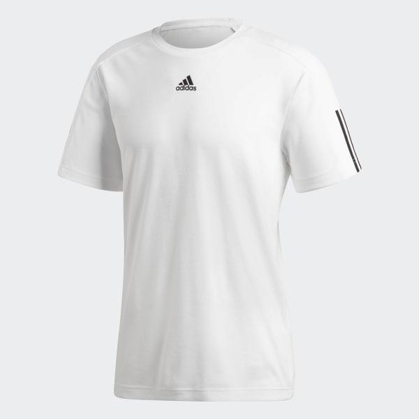 847273e8f583e Polera ID Stadium 3 Tiras - Blanco adidas