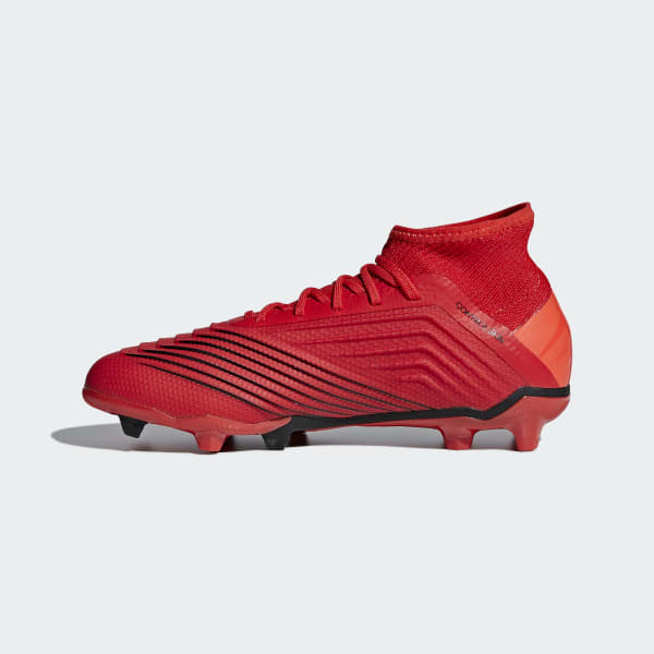 Chaussure Souple AdidasFrance Predator 3 19 Rouge Terrain