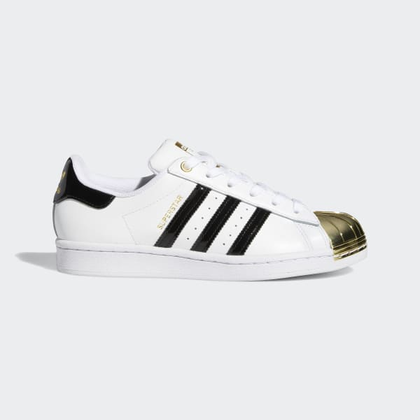 unidad Alas Agotamiento  adidas Superstar Metal Toe Shoes - White | adidas Canada