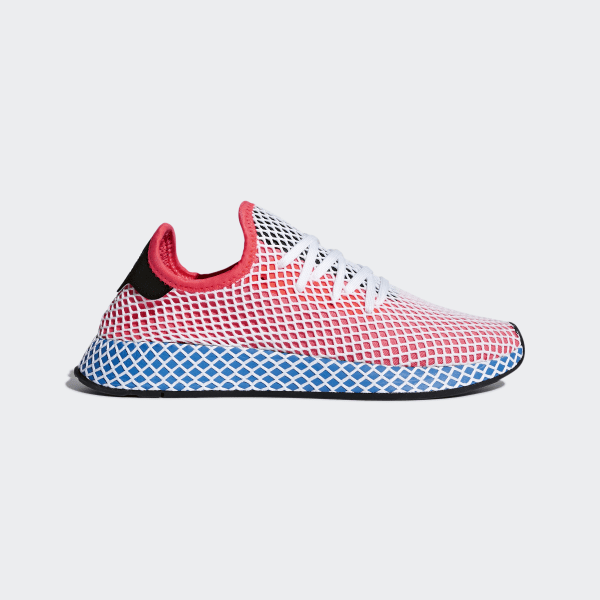 1c48b4bd2725f Deerupt Runner Shoes Solar Red   Solar Red   Bluebird CQ2624