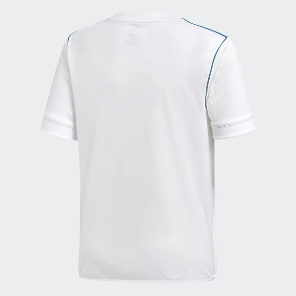 14f50afa0c4 Camisa Real Madrid 1 Infantil - Branco adidas