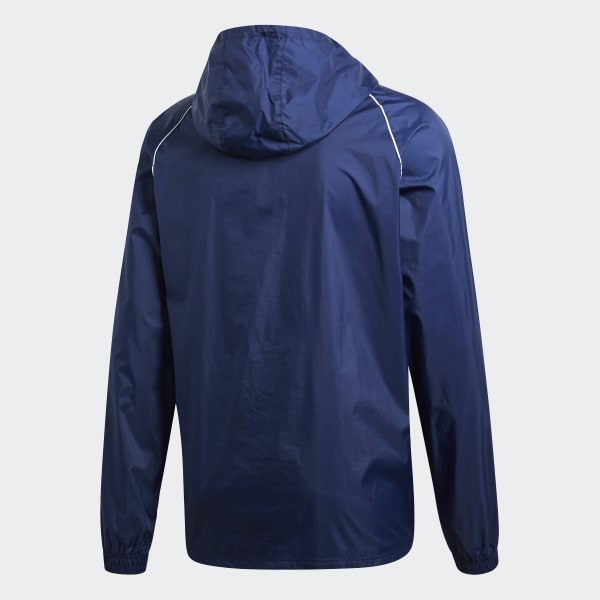 Veste imperméable adidas Core 18 Bleu | Footcenter
