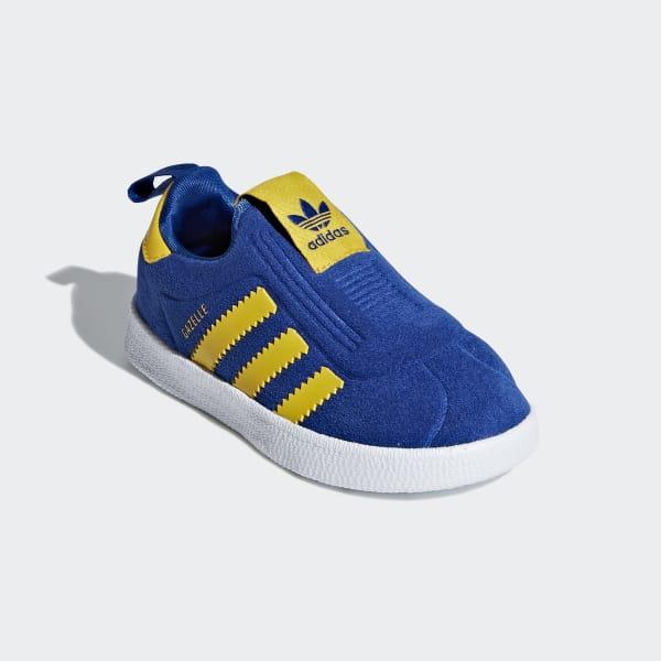 classic fit 609e8 a1dd2 adidas Gazelle 360 sko - Blå  adidas Denmark