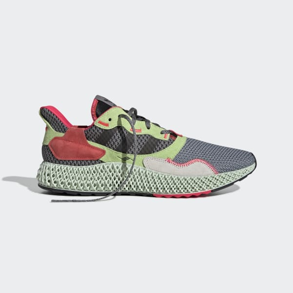 Electricista Destruir Absorbente  adidas ZX 4000 4D Shoes - Grey | adidas Singapore