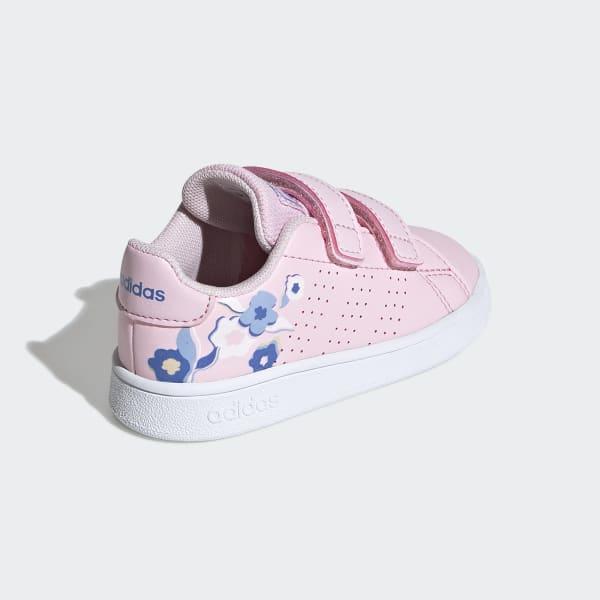 adidas advantage shoes pink