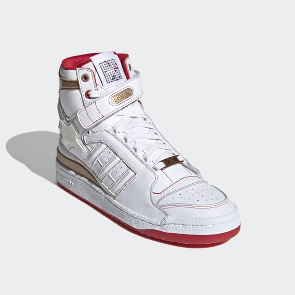adidas Forum Hi OG Shoes - White