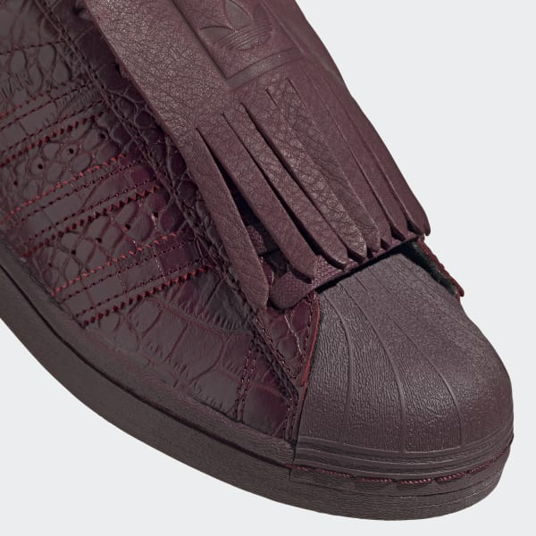 adidas Superstar FR Shoes - Burgundy