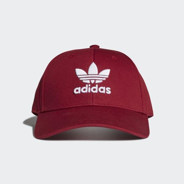 adidas Originals trefoil cap in red