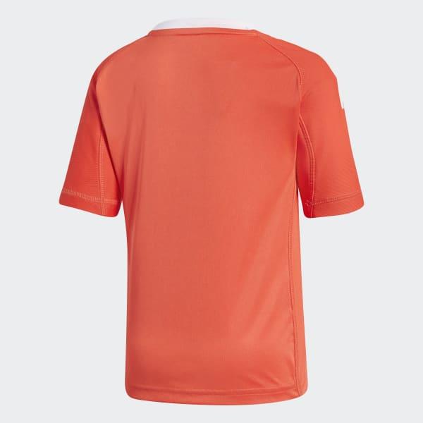 Miniconjunto portero segunda equipación Real Madrid - Rojo adidas ... 9822cb5af2973