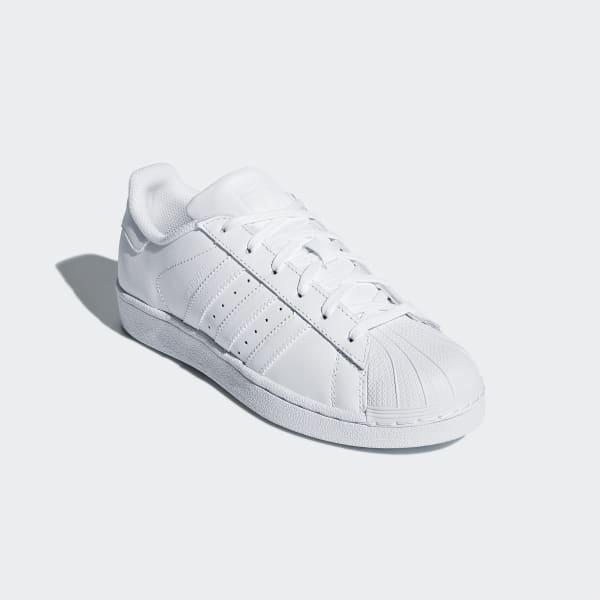 388197d7e8c Tênis Superstar Juvenil - Branco adidas