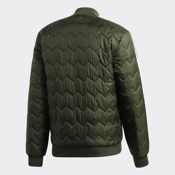 6dea0b3c57a adidas SST Quilted Jacket - Green | adidas Switzerland