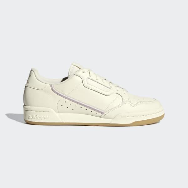 adidas Originals Continental 80 W Off WhiteOrchid TintSoft Vision G27718