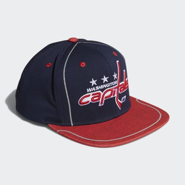 Capitals Flat Brim Hat
