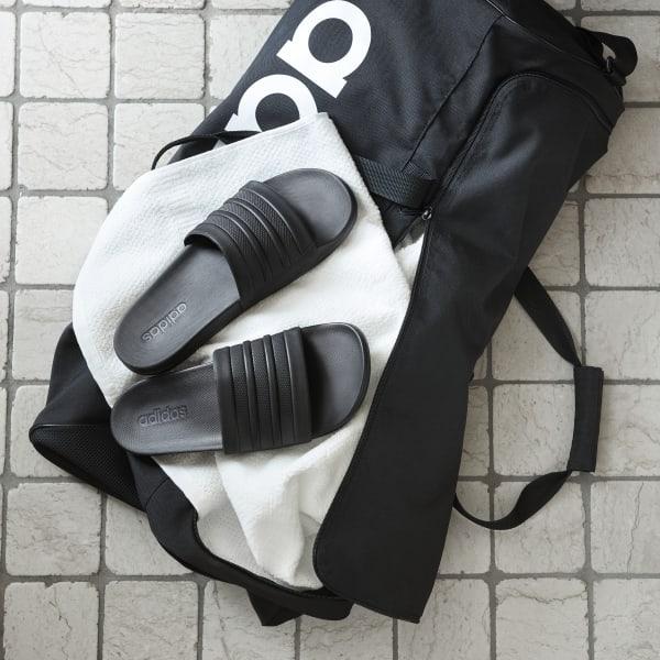 Core Black Comfort Slides | adidas