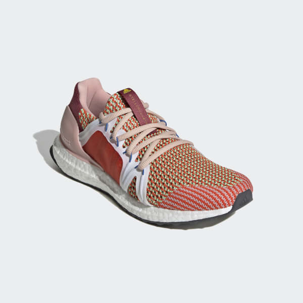 Adidas Ultraboost Shoes Red Adidas Uk